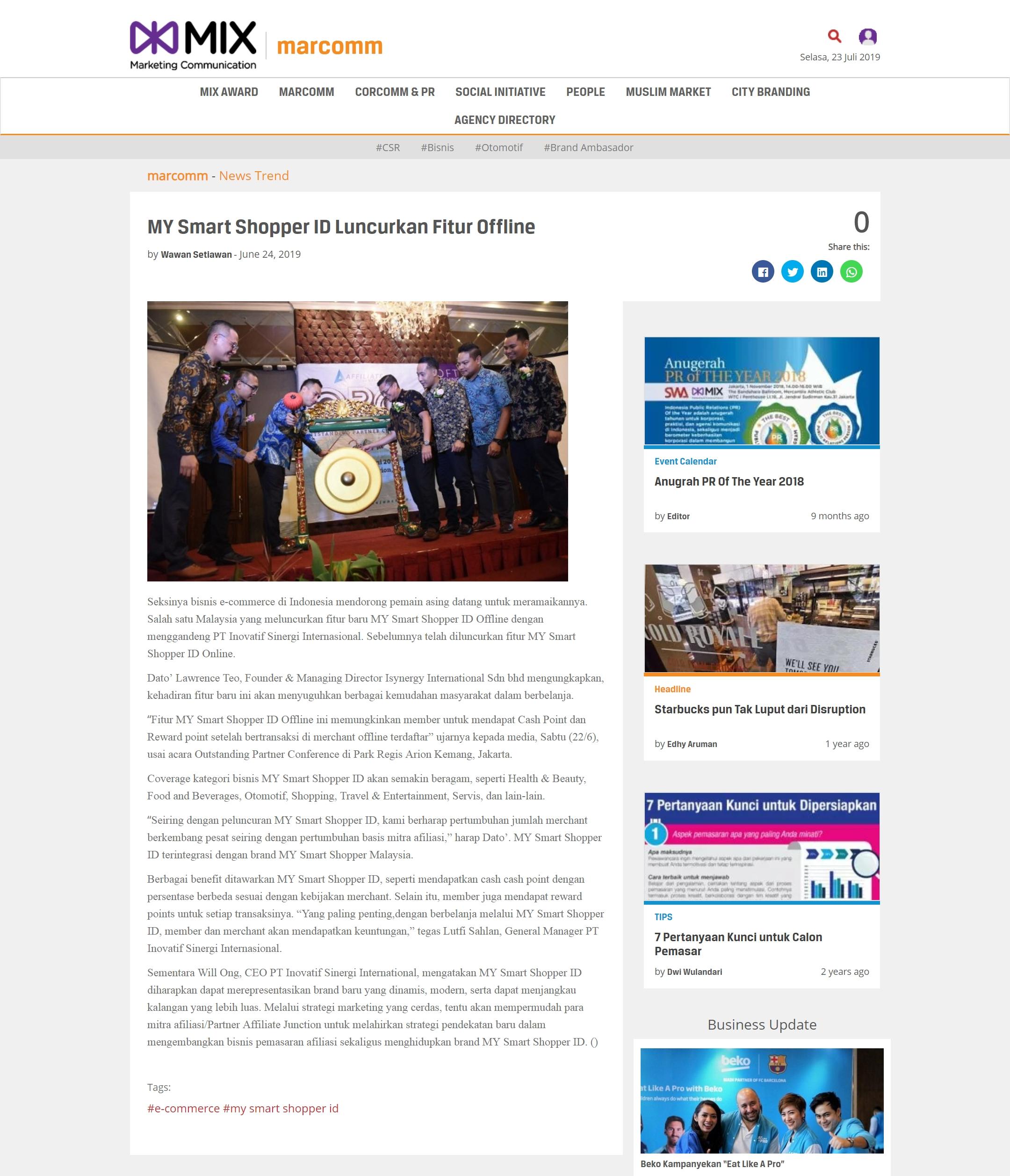 MarcommNews_MYSmartShopperIDLuncurkanFiturOffline_24June2019